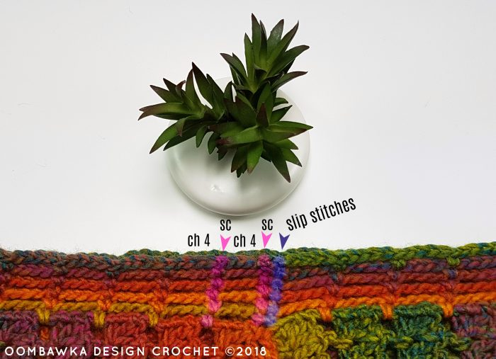 Fall Carnival Scarf Pattern by Oombawka Design Crochet Seams