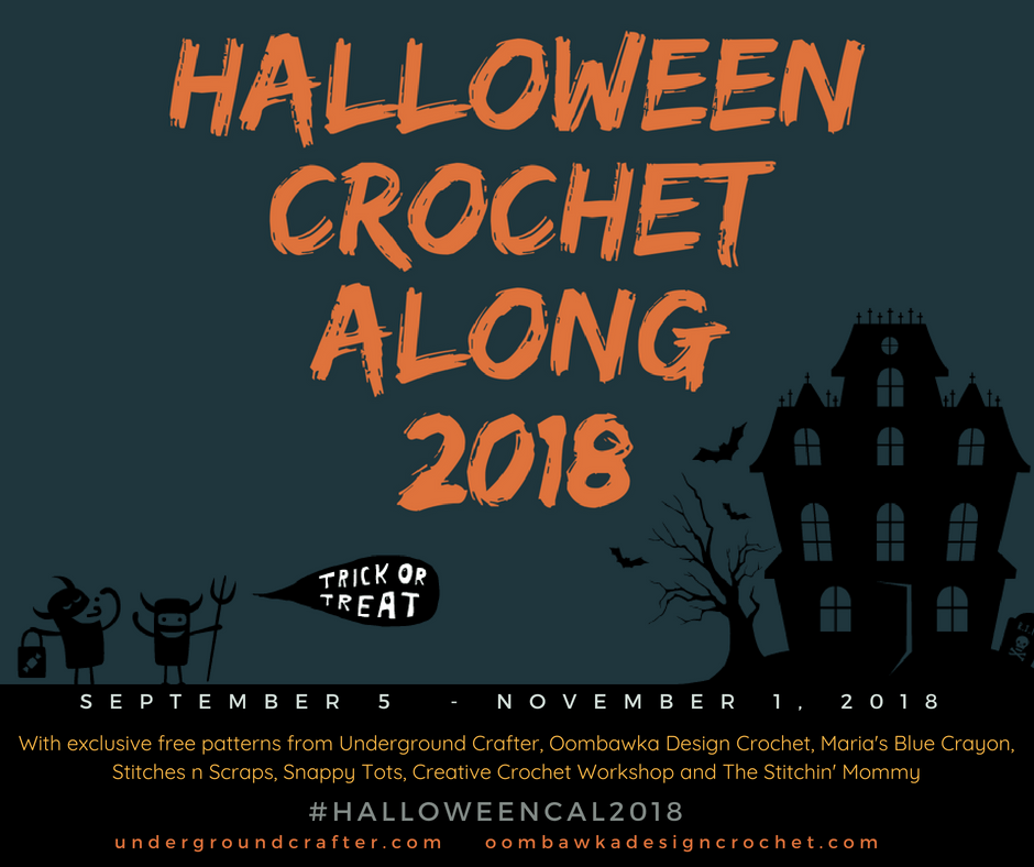Halloween Crochet Along 2018 FB