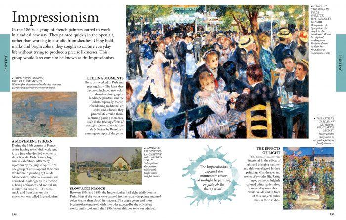 The Arts A Visual Encyclopedia. DK Canada. Book Review by Oombawka Design