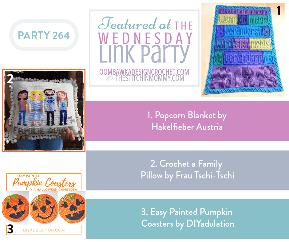 Featured at Wednesday Link Party 264