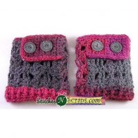 Starry Skies Boot Cuffs by Pia Thadani