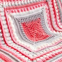 Study of Texture Afghan by Michael Sellick of The Crochet Crowd