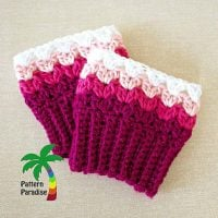Sweetheart Boot Cuffs 15-171 by Maria Bittner