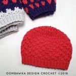 Anahata Hat 4. Oombawka Design Crochet