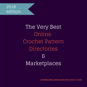 The Very Best Online Crochet Directories and Marketplaces 2018 Edition.