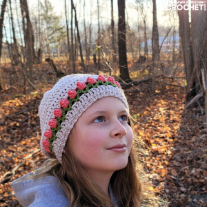 Tulip Stitch Hat Pattern - ODC 2020
