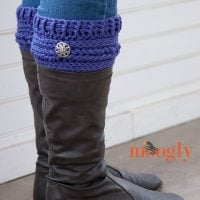 Ups and Downs Boot Cuffs by Tamara Kelly