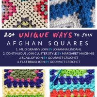 20 Unique Ways to Join Afghan Squares