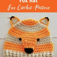 Woodland Fox Hat Pattern from Crochet for You