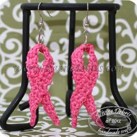 Awareness Ribbon Earrings