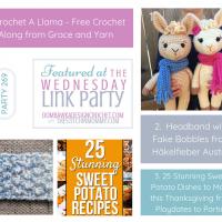 Featuring a Crochet A Llama CAL!