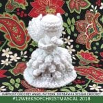 Crochet Harmony, the 2018 Christmas Angel Pattern!