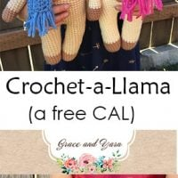 Free Llama CAL with Grace and Yarn