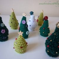 Mini Christmas Trees by Annaboo's House
