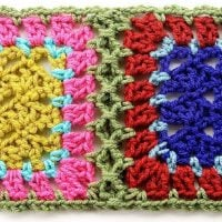 Simulated Braid Join by Gourmet Crochet