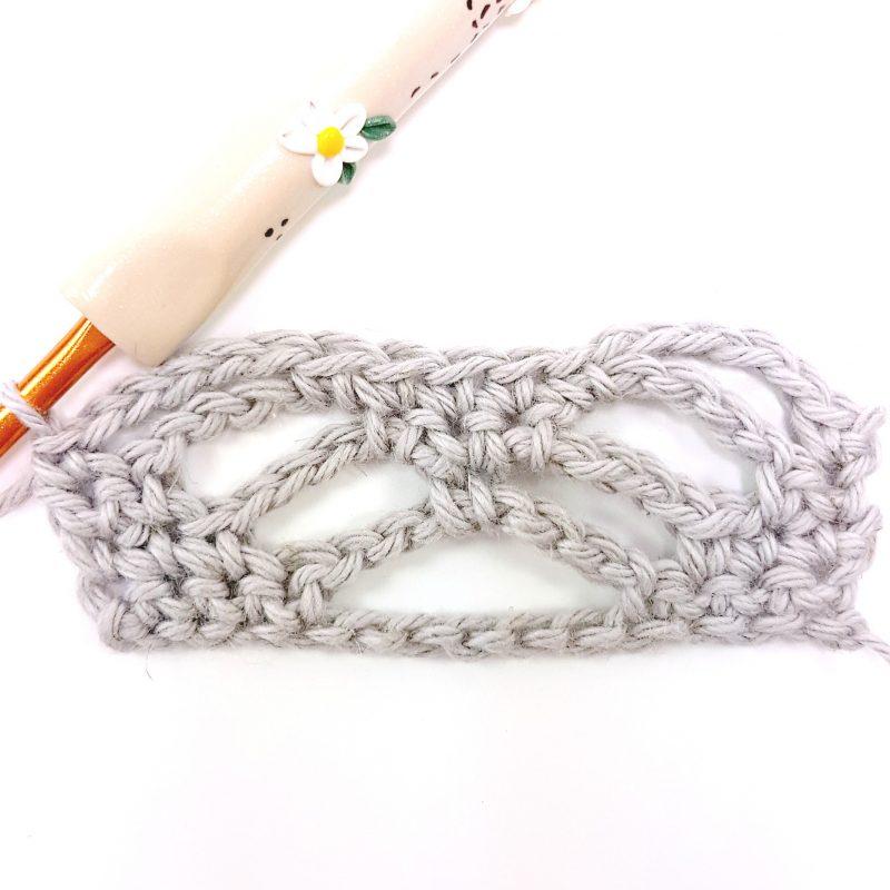 Step 4 Spider Stitch Oombawka Design Crochet