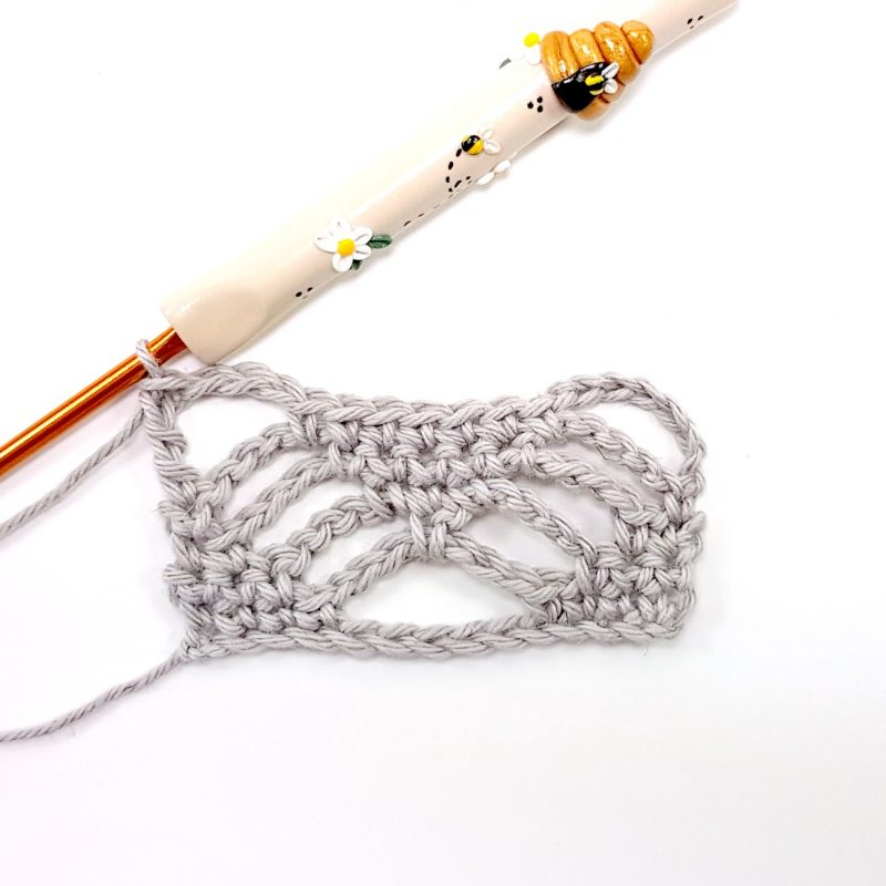 Step 5 Spider Stitch Oombawka Design Crochet