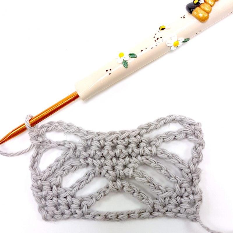 Step 6 Spider Stitch Oombawka Design Crochet