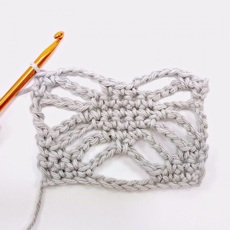 Step 7 Spider Stitch Oombawka Design Crochet