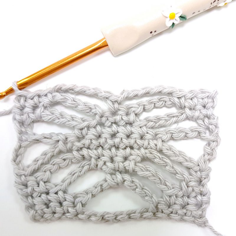 Step 8 Spider Stitch Oombawka Design Crochet