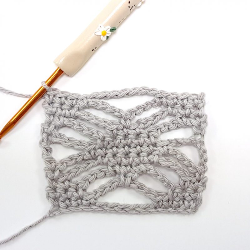 Step 9 Spider Stitch Oombawka Design Crochet