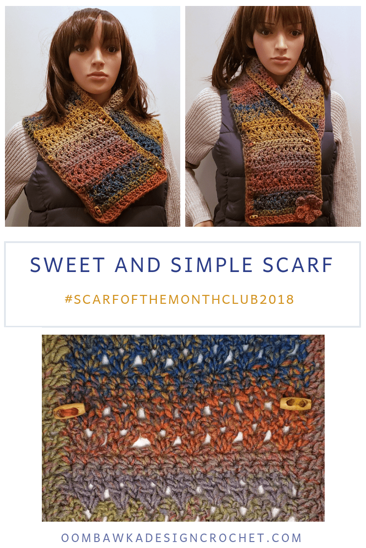 Crochet this Sweet and Simple Scarf Pattern