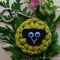 Sheep Keyring by Atelier Marie-Lucienne