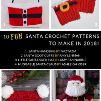 10 Fun Santa Crochet Patterns to Make in 2018