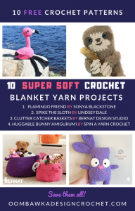 10 Super Soft Free Blanket Yarn Patterns. Roundup Oombawka Design Crochet