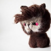 Amigurumi Hipster Alpaca by Jennifer Ramirez