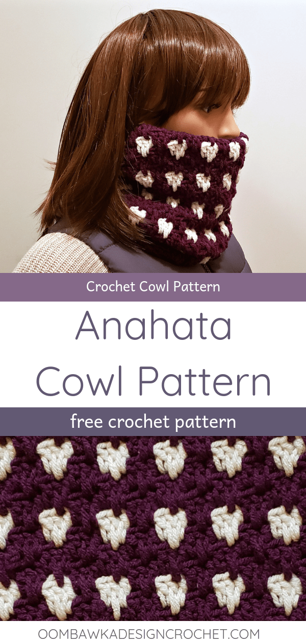 Anahata Cowl Pattern from Oombawka Design Crochet 2018