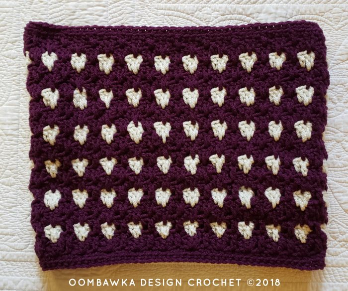 Anahata Cowl Pattern. Oombawka Design Crochet 2018.