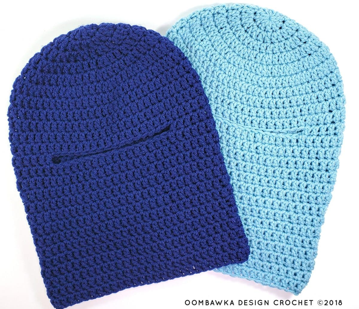 Beginner Winter Ski Mask Pattern by Oombawka Design Crochet 1