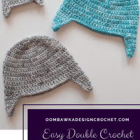 Simple Double Crochet Earflap Hat for Beginners