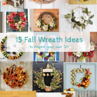 15 Fall Wreath Ideas. Domestic Deadline