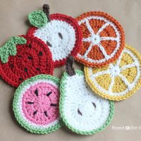 Fruit Coasters by Sarah Zimmerman