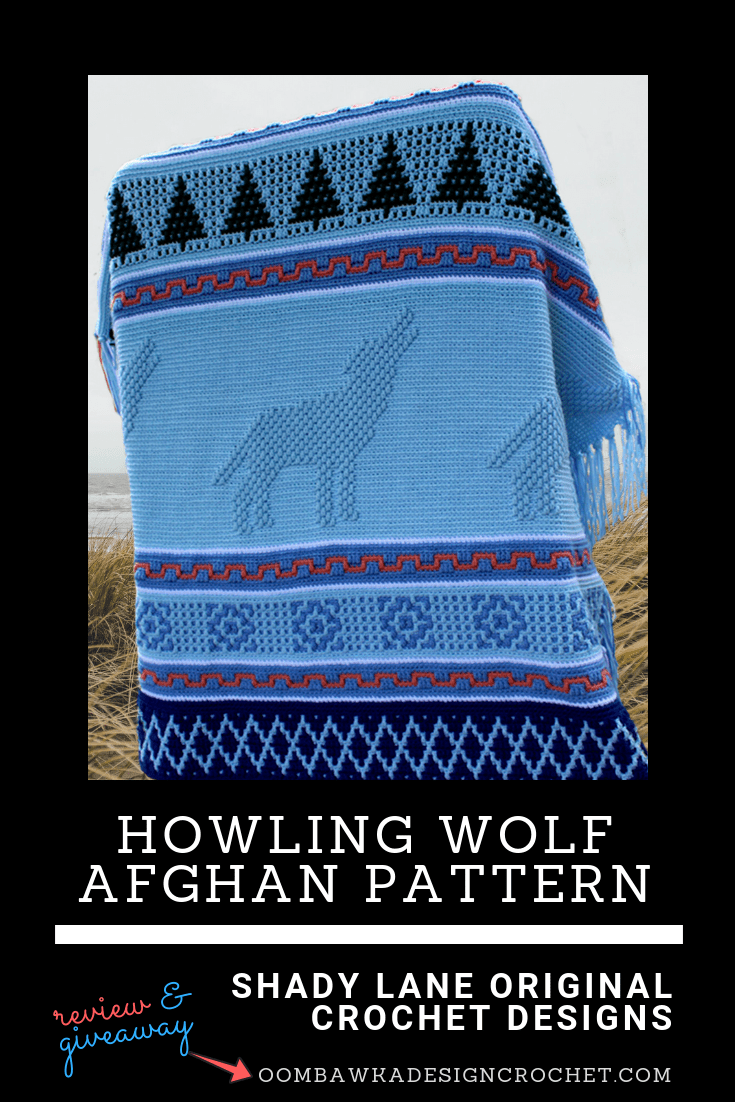 Howling Wolf Afghan Pattern Review and Giveaway at Oombawka Design Crochet