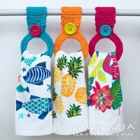 Hanging Ring Towel Holder by Naztazia