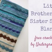 Little Brother / Little Sister Security Blanket Pattern from Underground Crafter