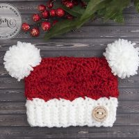 Little Santa Sack Hat by Amy Ramnarine
