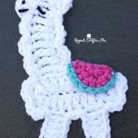 Llama Applique by Sarah Zimmerman