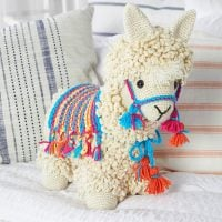 Llama-No-Drama by Nancy Anderson at Red Heart