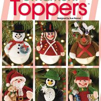 Cover. Ornament Toppers Annie's Craft Store eBook Review Oombawka Design Crochet back cover