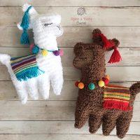 Ragdoll Llama by Spin a Yarn Crochet