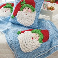 Join me for A Crochet Santa Pillow CAL!