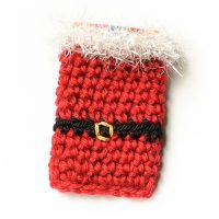 Santa Gift Card Holder by Kara Gunza