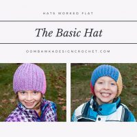 Basic Hat Pattern. Hats Worked Flat