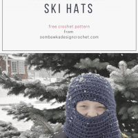 Warm Winter Ski Hat Pattern
