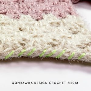 Whip Stitch 2 Beginner Hooded Scarf Pattern Oombawka Design Crochet