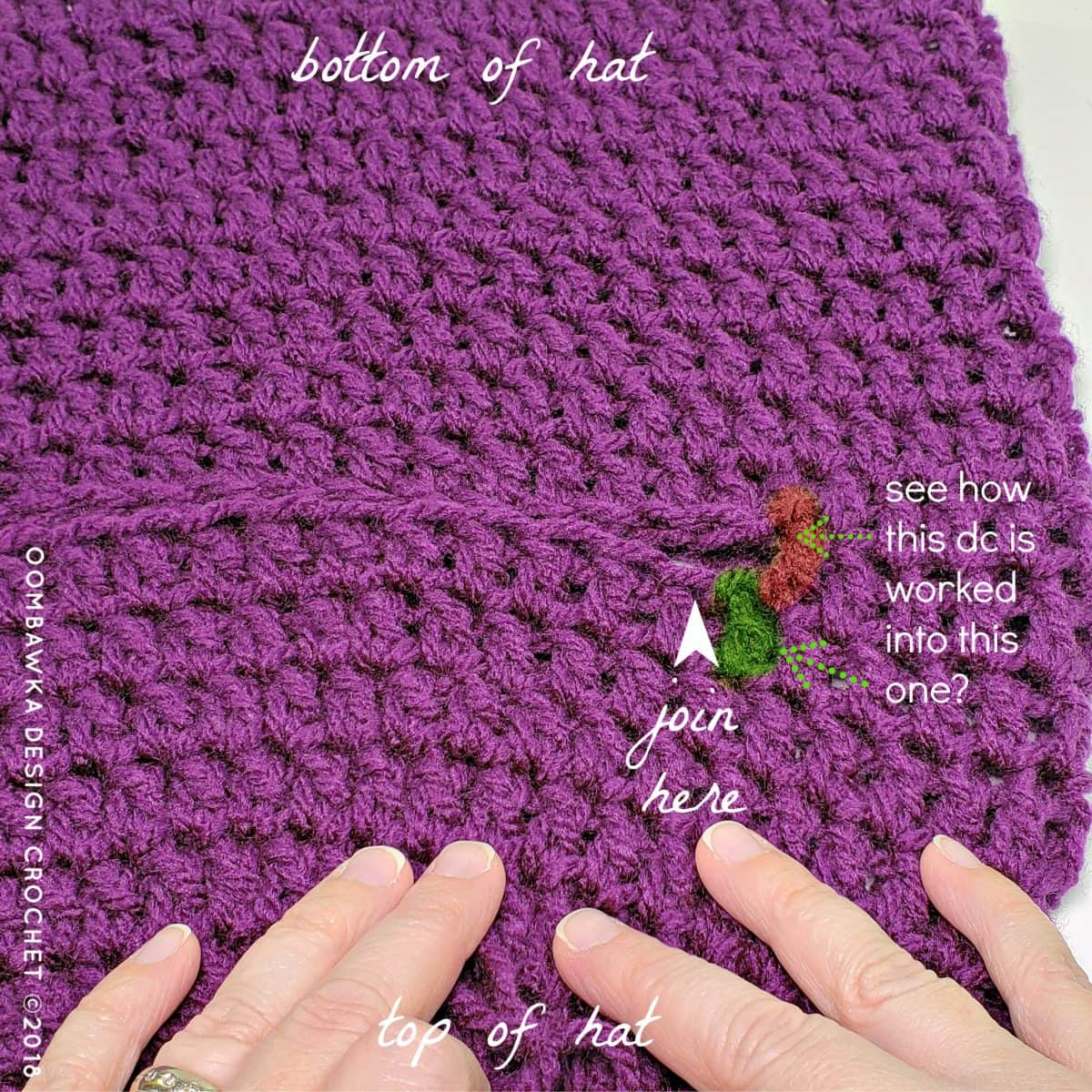 Winter Horseback Riding Helmet Cover Pattern where to join Part 2 Oombawka Design Crochet